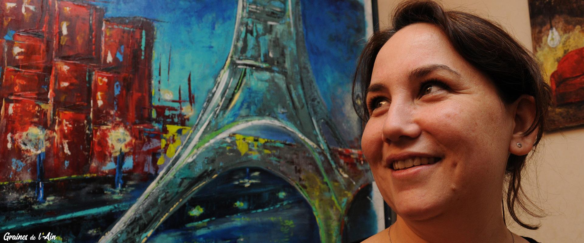 Cath'M artiste peintre - Graines de l'Ain