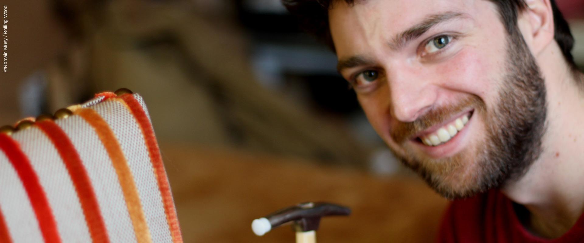 Romain Musy - tapissier - Graines de l'Ain