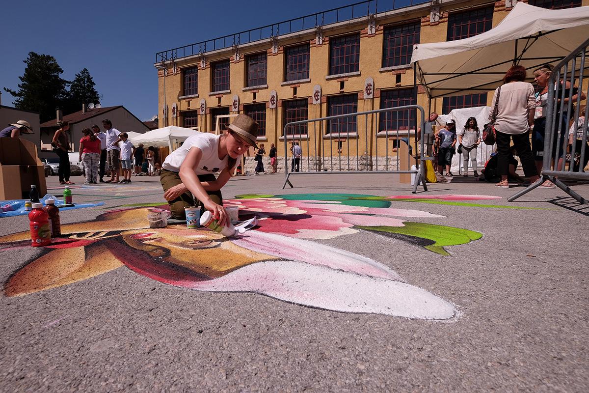 Art in Hut Bugey Festival Street Art - Graines de l'Ain