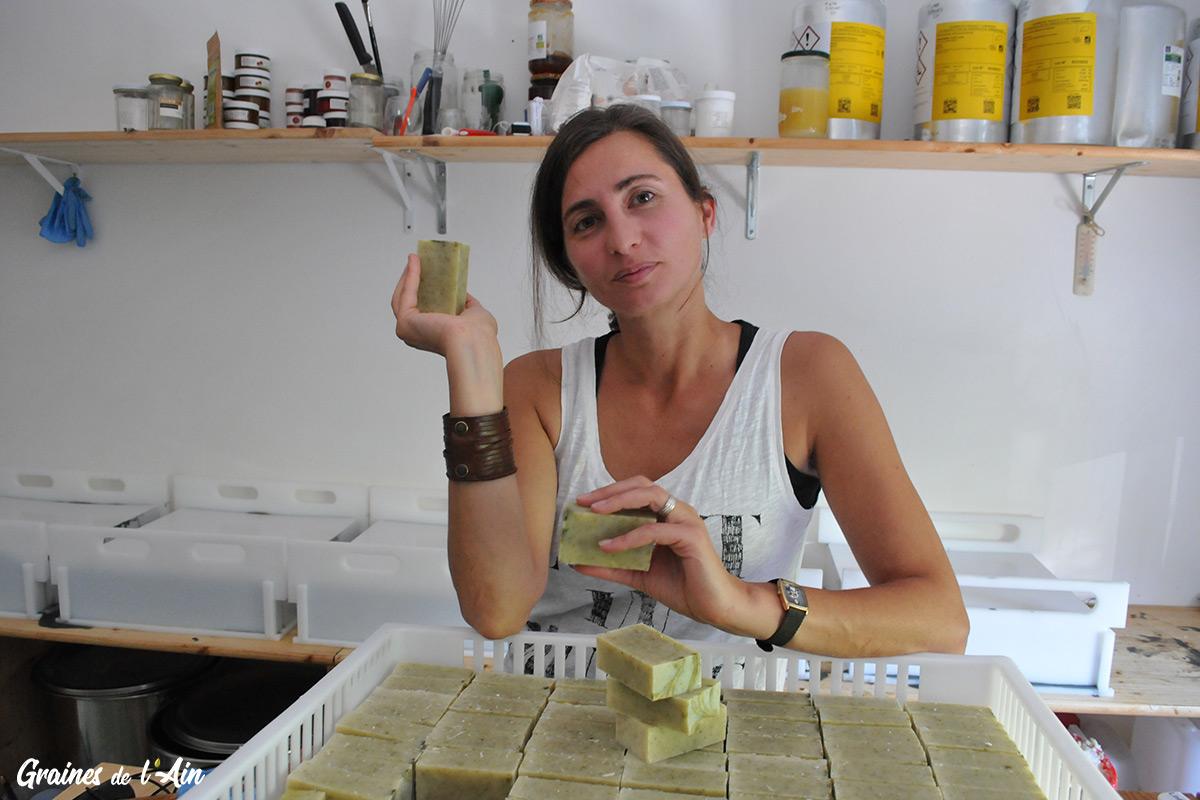 Folie Verte la savonnerie d' Izernore - Graines de l' Ain