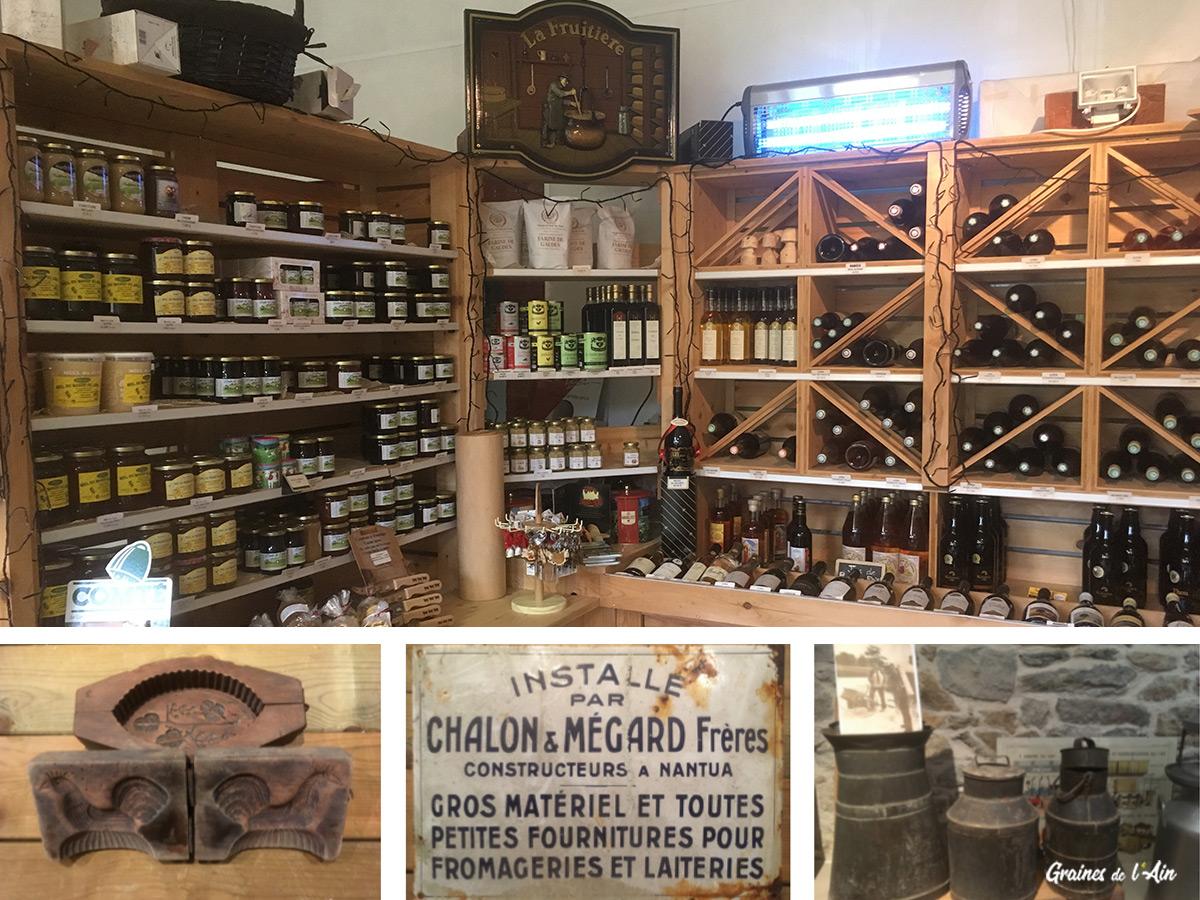 Fromagerie de Courtouphle - Graines de l' Ain