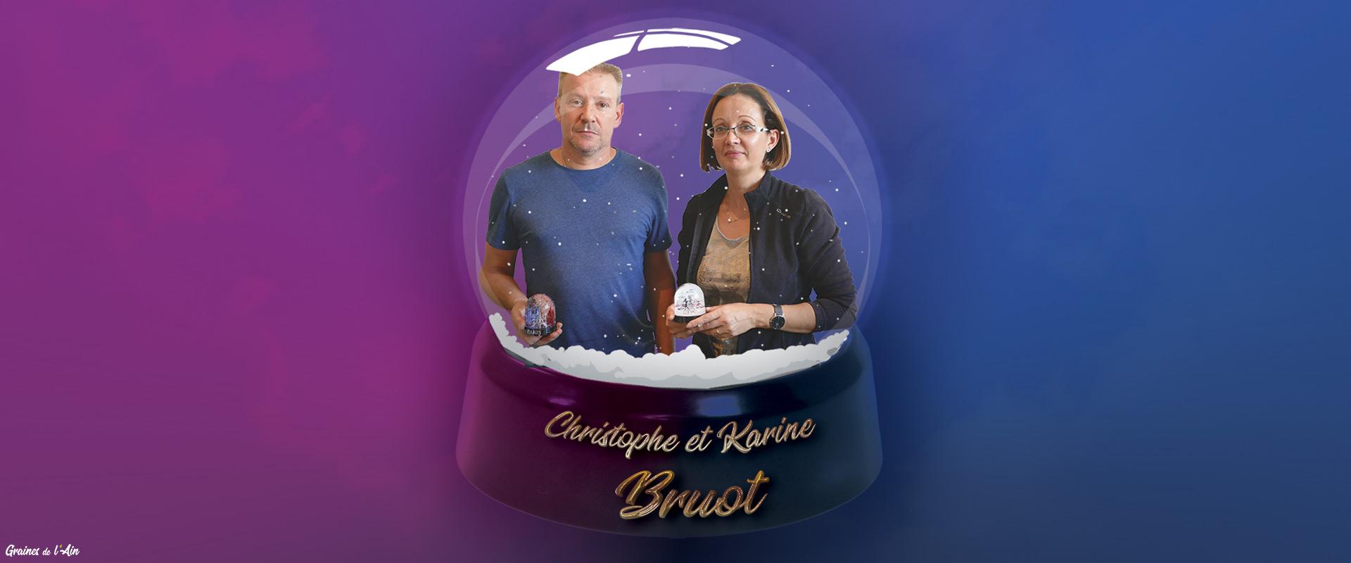 Entreprise Bruot boules à neige à Arbent - Graines de l' Ain