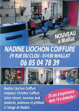 Nadine Liochon Coiffure Maillat