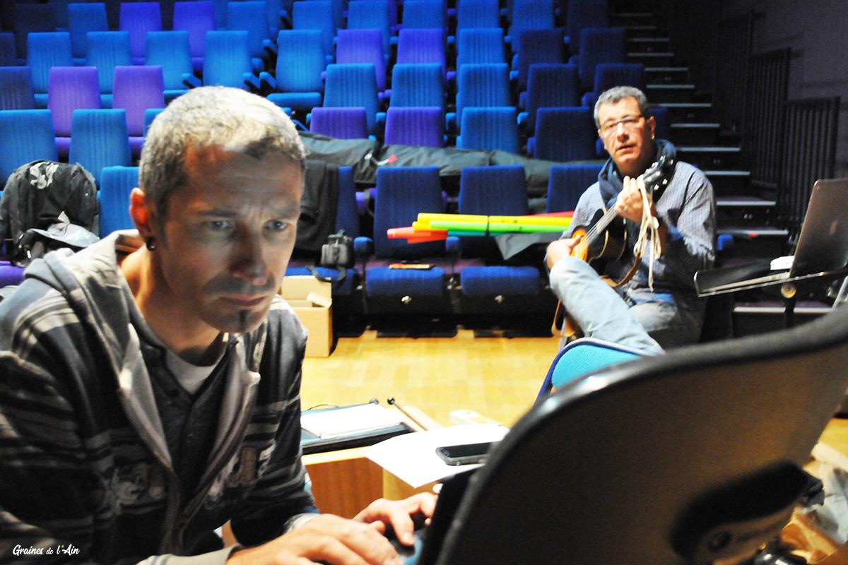 Petrek et Thibaut Martin - Boum Boum conte musical - Graines de l' Ain