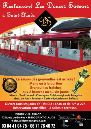 Restaurant Douces Saveurs à Saint-Claude