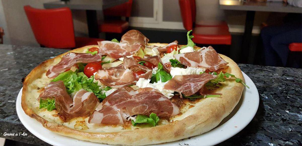 Graines de l' Ain - La Calabrese - Pizzeria à Montréal-la-Cluse