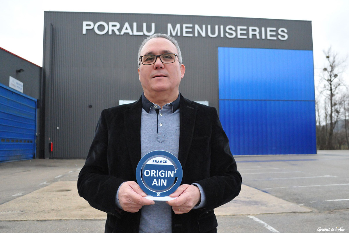 label des entreprises de l'ain 100% local - Manuel Inigo Poralu menuiseries
