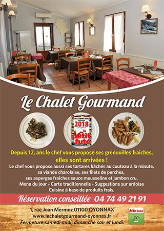 Le Chalet Gourmand à Oyonnax