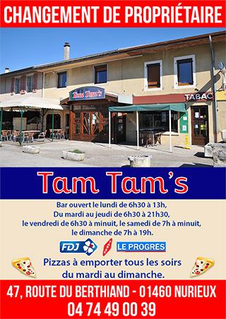 Tam Tam's - Nurieux