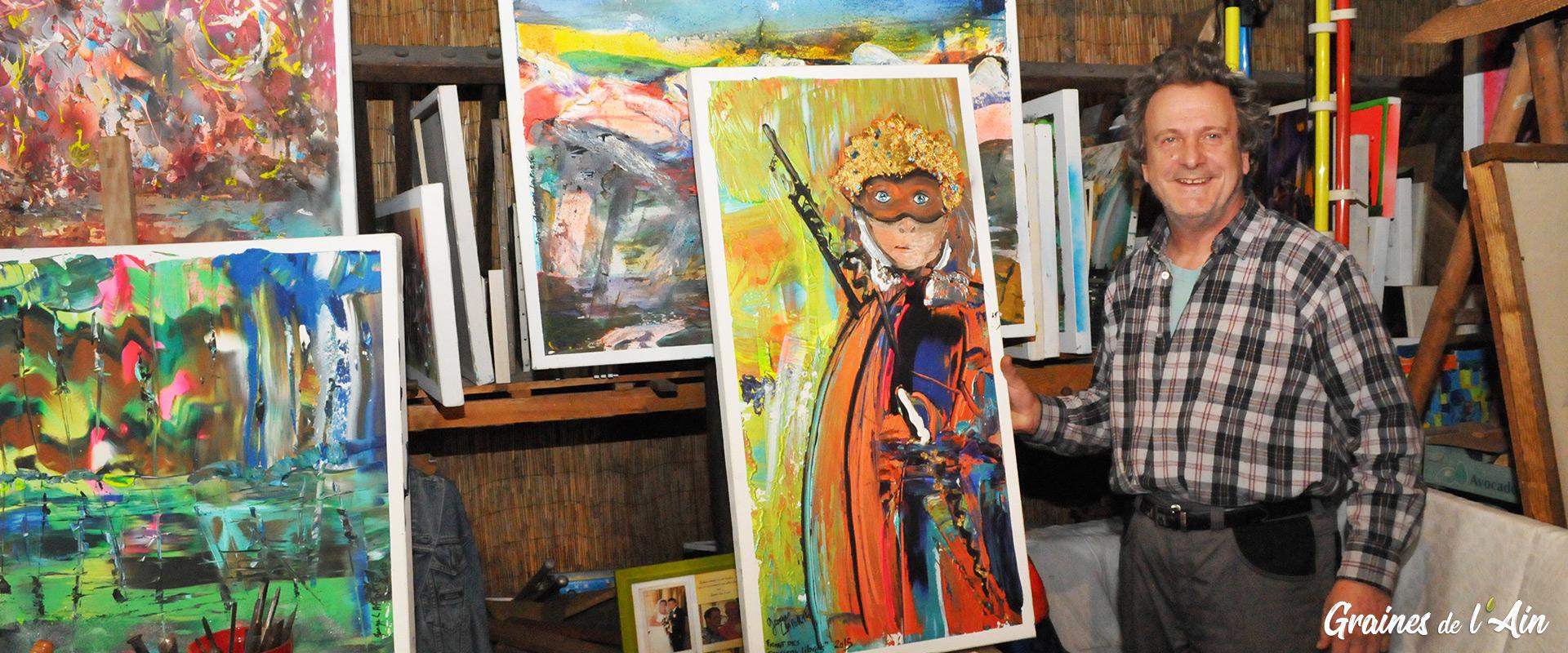 Georges Laporte plasticien saxophoniste - Magazine - Graines de l' Ain