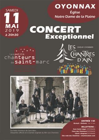 concert CHANTRES D'AIN