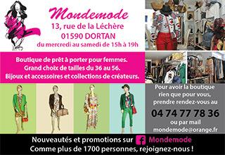Boutique Mondemode à Dortan
