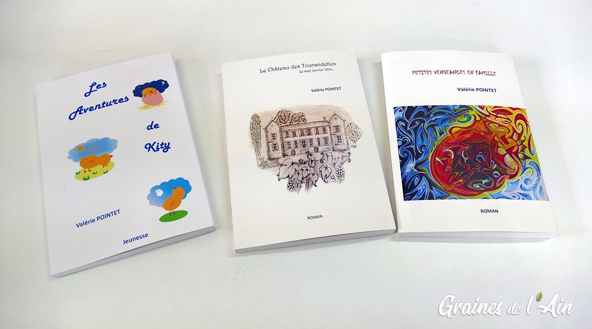Valérie Pointet auteur du livre Eric Barone le baron rouge - Magazine Graines de l' Ain