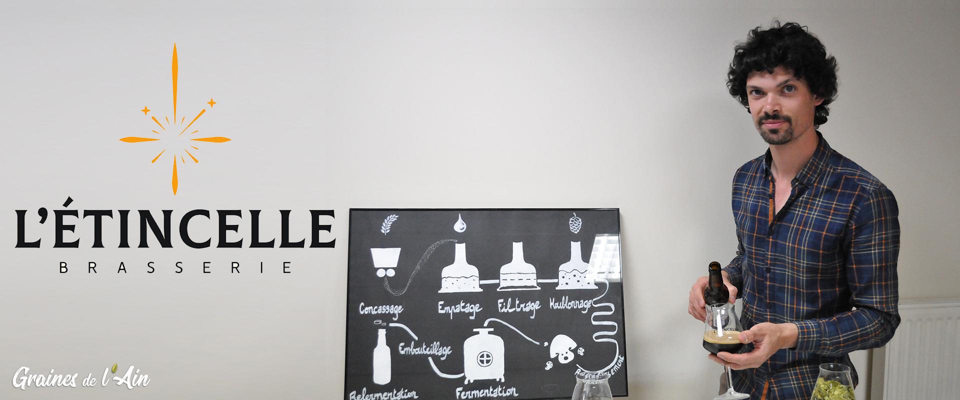 Brasserie L' étincelle - Magazine Graines de l' Ain