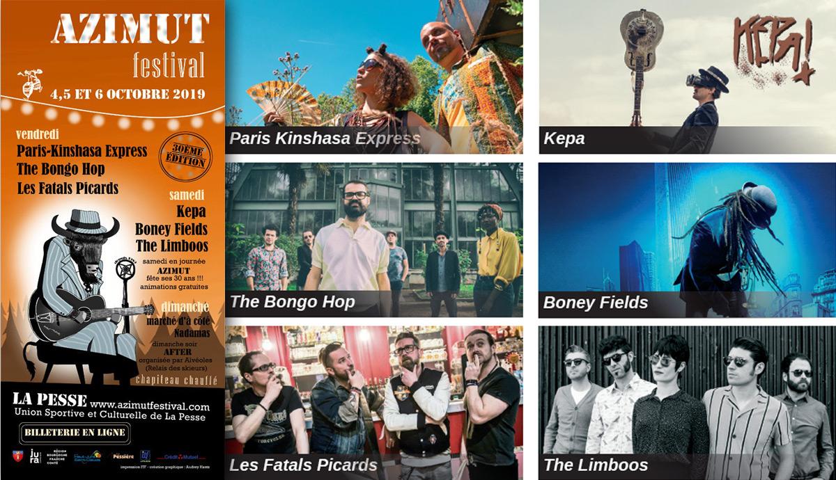 Azimut Festival La Pesse Magazine Graines de l' Ain