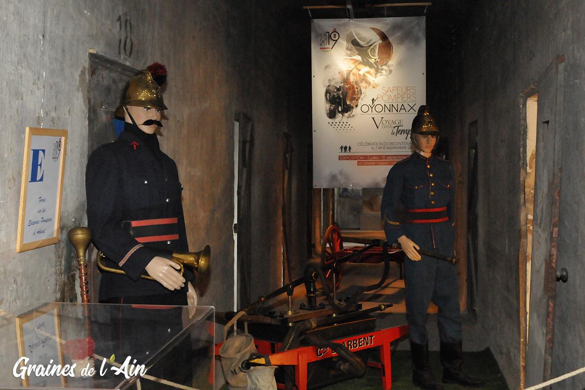 Sapeurs pompiers Oyonnax la Grande Vapeur - Magazine Graines de l' Ain