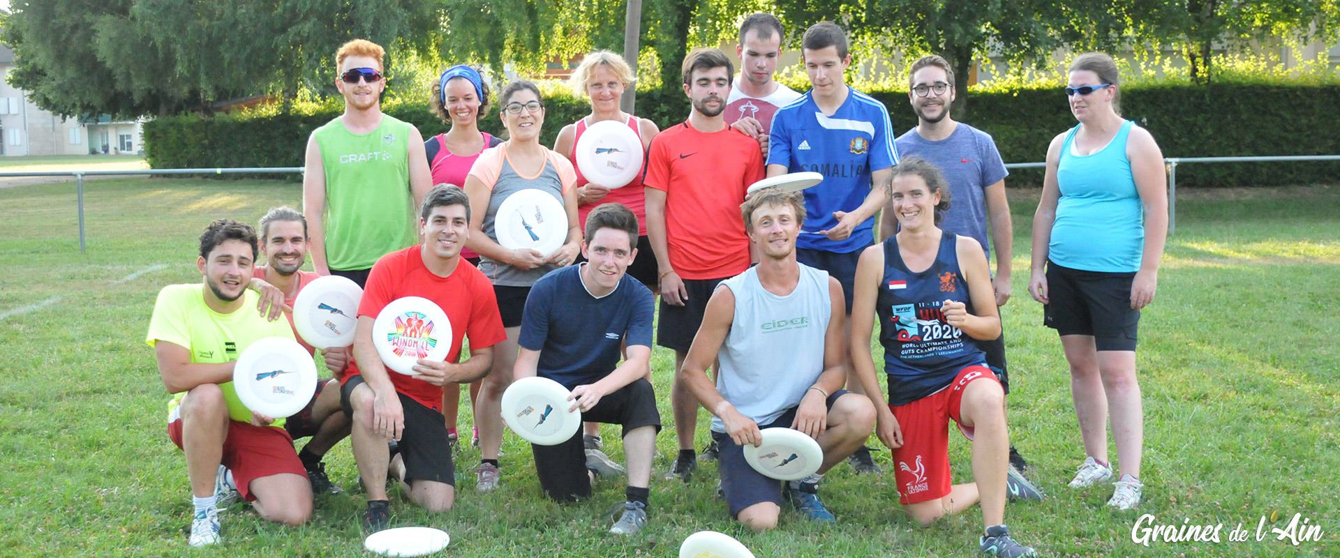 Ultimate Frisbee - Haut B'gey Volant à Port - Magazine Graines de l' Ain