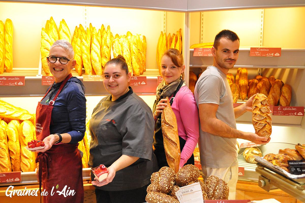 Chez Pierrot et Mélo - Boulangerie Pâtisserie à Izernore - Magazine Graines de l' Ain