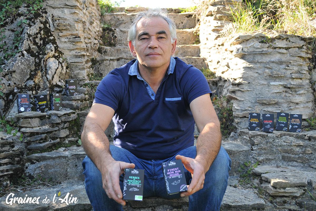 Max Daumin - La Magie des Epices à Mens - Magazine Graines de l' Ain