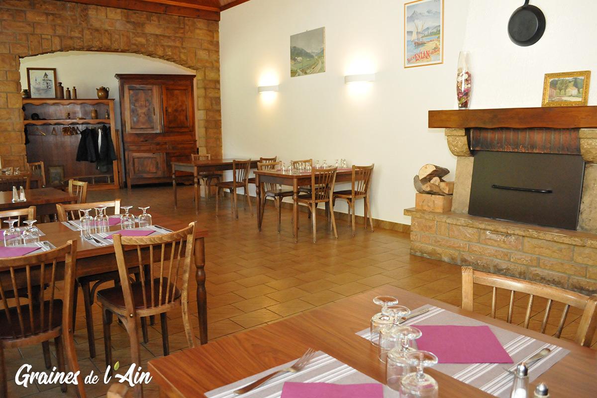 Restaurant La Cascade du Moulin - Odile Goiffon - Moulin de Charix - Magazine Graines de l' Ain