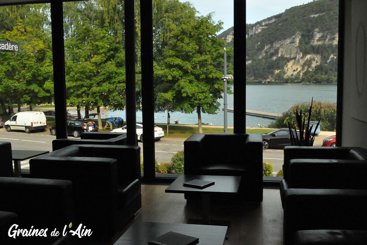 Hôtel-restaurant l' Embarcadère à Nantua - Jean-Charles Guyot - Magazine Graines de l' Ain