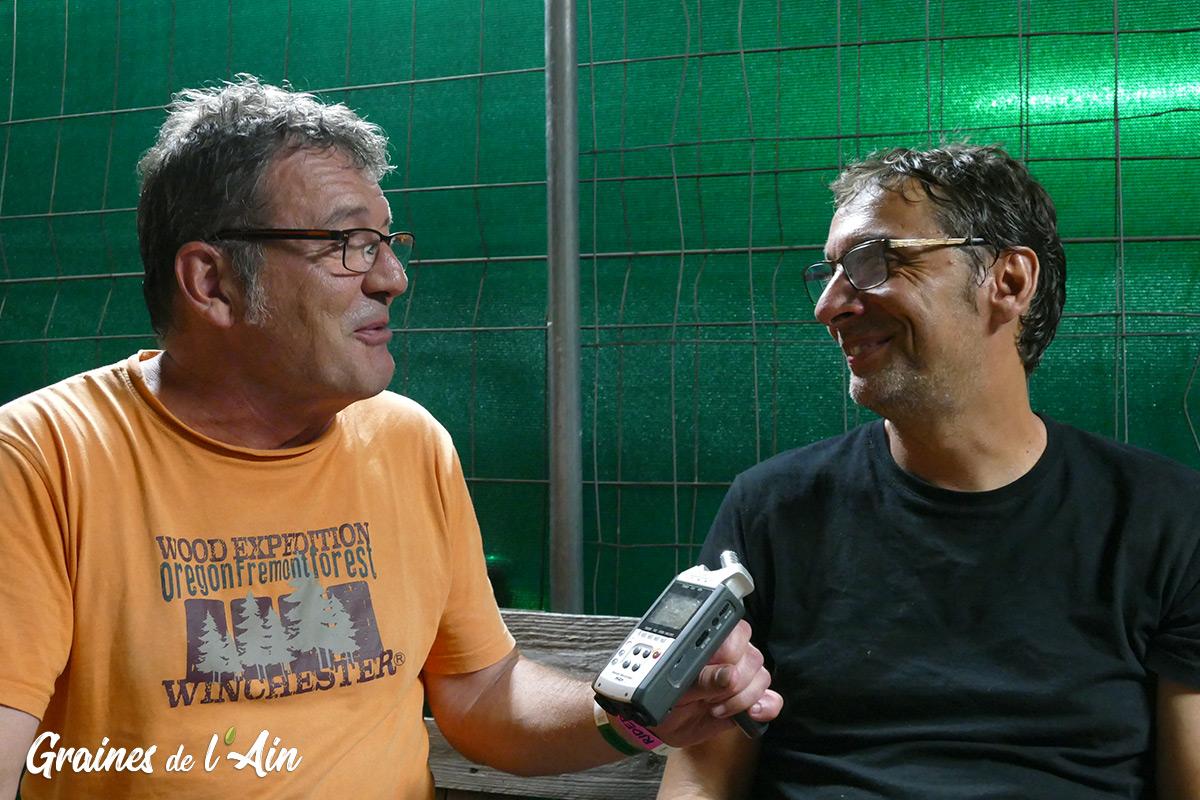 Interview Didier Super - Magazine Graines de l' Ain