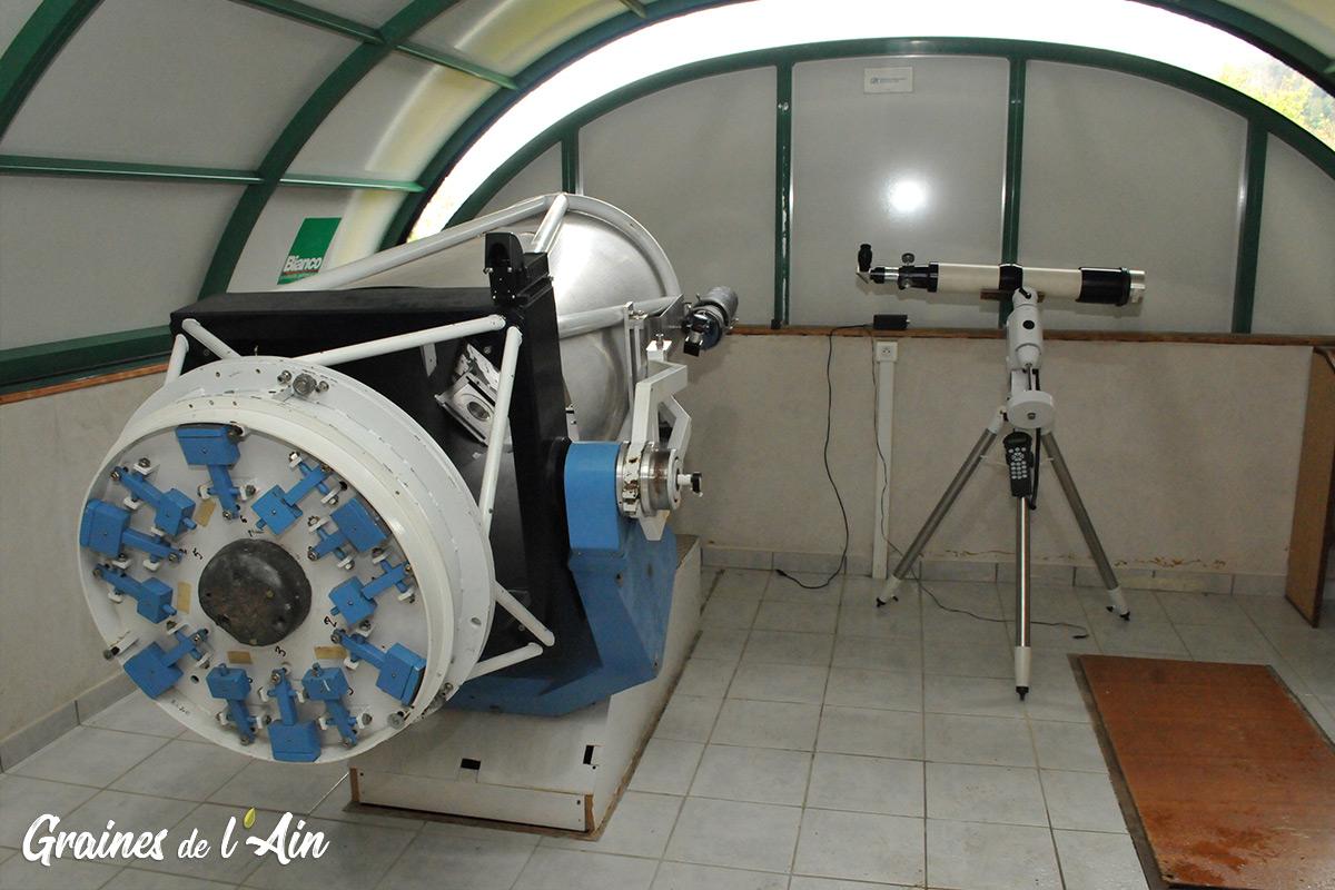 Observatoire de la Lèbe à Sutrieu - Magazine Graines de l' Ain