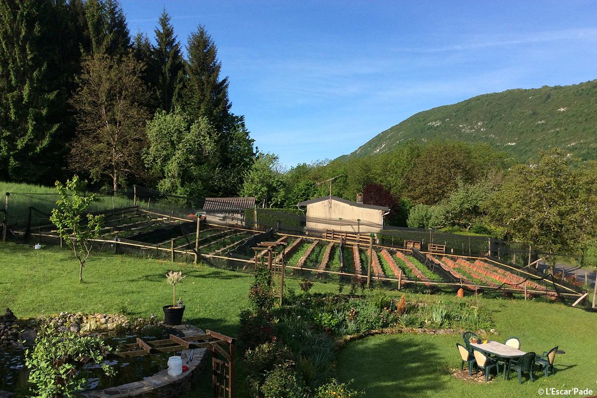 Escar'pade - héliciculture à Corcelles - Magazine Graines de l' Ain
