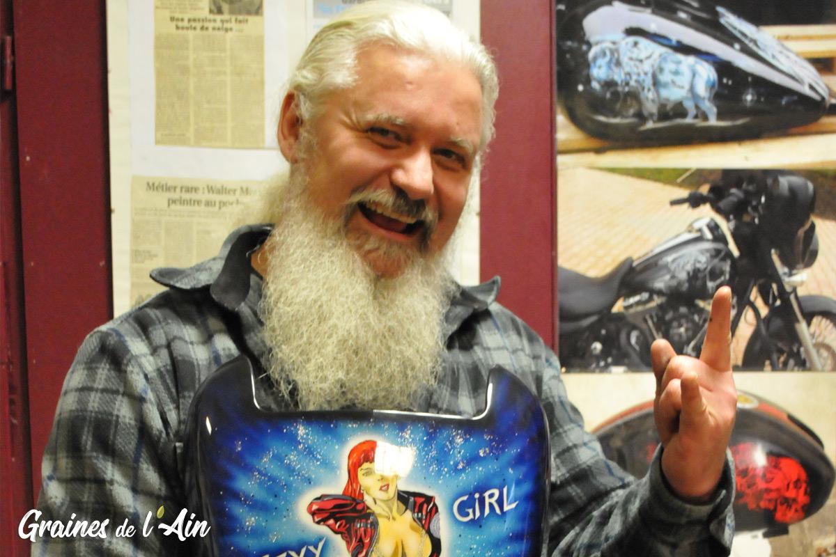 Walter Monaci - Peintures personnalisées à Nantua - Magazine Graines de l' Ain