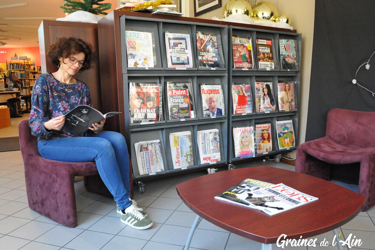 Mediatheque de Nantua - Magazine Graines de l' Ain