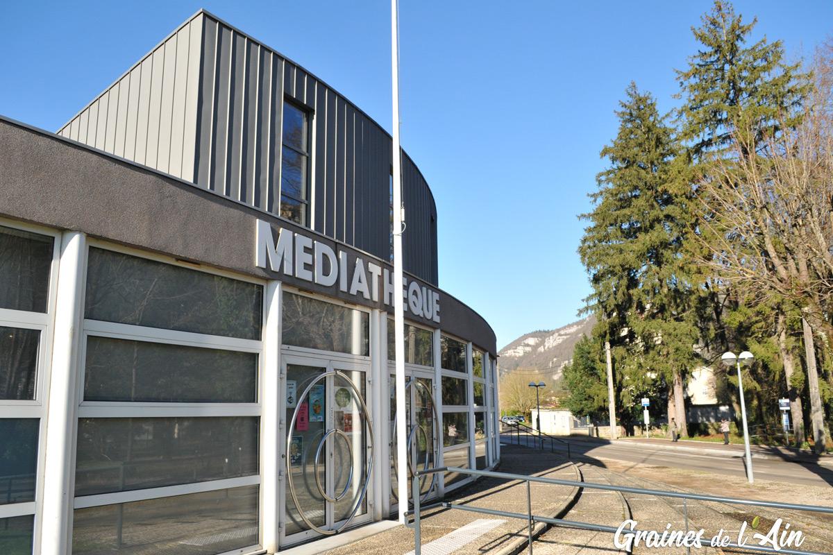 Mediathèque de Nantua - Magazine Graines de l' Ain