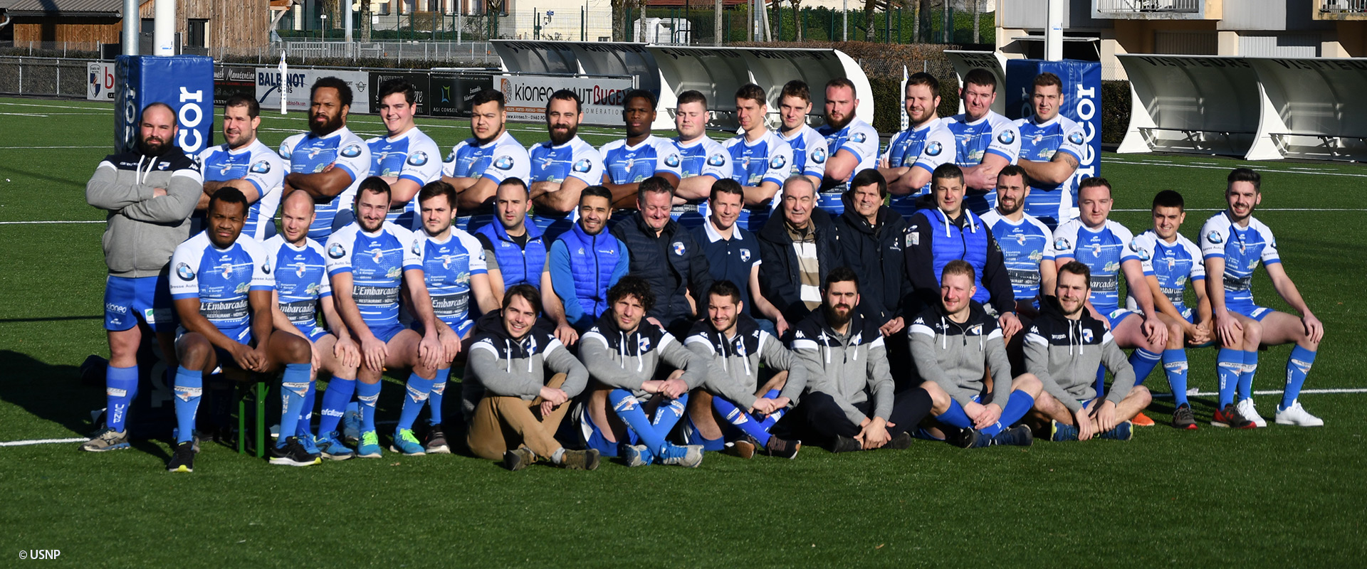 USNP - Rugby du Haut-Bugey - Nantua - Magazine Graines de l'Ain