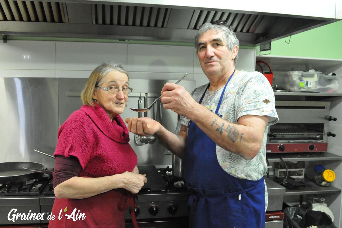 Restaurant La Vieille Auberge - Le Balmay - Vieu d'Izenave - Magazine Graines de l' Ain